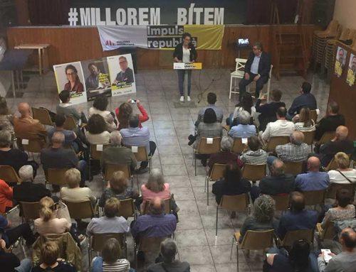 Irene Fornós promet que crearan una taula socioeconòmica per impulsar Bítem