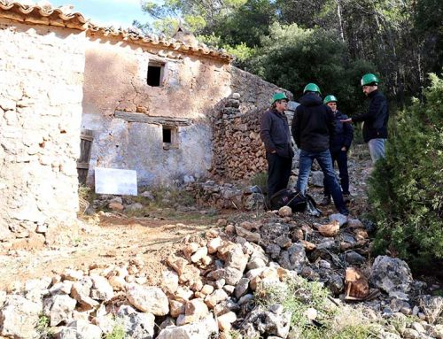 Exposició de construccions tradicionals al Mas de Burot d'Horta de Sant Joan