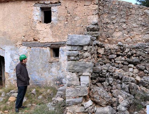 El Mas de Burot d'Horta de Sant Joan, candidat al premi d'Arquitectura Tradicional Toni Cobos