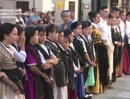 Sant Gregori 2019: Proclamació Pubilles a Santa Bàrbara
