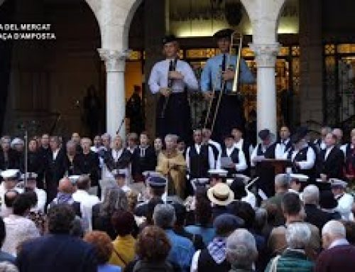 XI Festa del Mercat a la plaça d'Amposta 2019: Acte inaugural