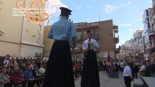 XI Festa del Mercat a la Plaça:  passeig i piromusical a Amposta