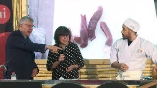 Showcooking Mescla 2019:  Demostració de cuina i tast amb Hèctor Ribeiro - Sukomi.
