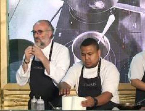 Showcooking Mescla 2019: Demostració de cuina amb Jeroni Castell.