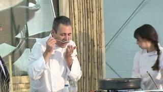 Showcooking Mescla 2019: Demostració de cuina i tast del xef Ladis Alcalà
