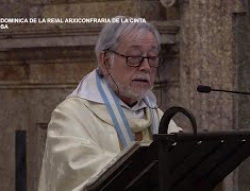 Missa Dominica de la Reial Arxiconfraria de la Cinta. Diumenge 5 de maig