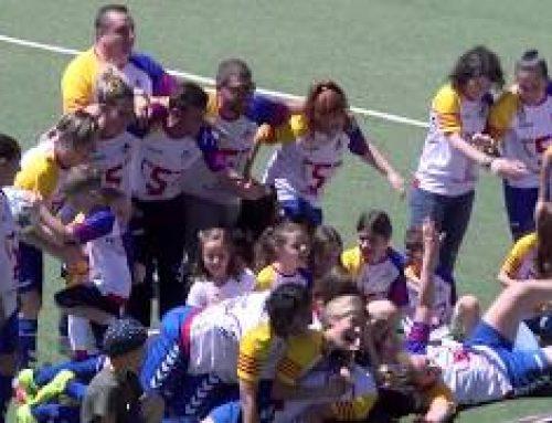 Femení Alcanar CF, pentacampió de Futbol 7 Femeni a les TTEE