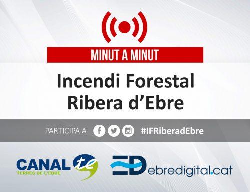 [MINUT A MINUT] Incendi forestal a la Ribera d'Ebre