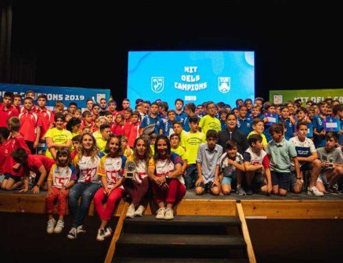 El CD Alcanar rep el premi al 'fair play' en la Nit dels Campions de les Terres de l'Ebre