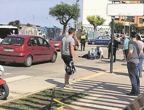 Atropellament d'una noia que passava per un pas zebra a Benicarló