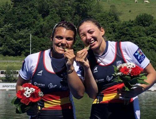 Les remeres Aina Cid i Virginia Díaz galardonades amb la medalla del COE