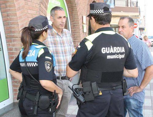 Xavier Royo comença fort el seu mandat amb la creació de les patrulles de proximitat