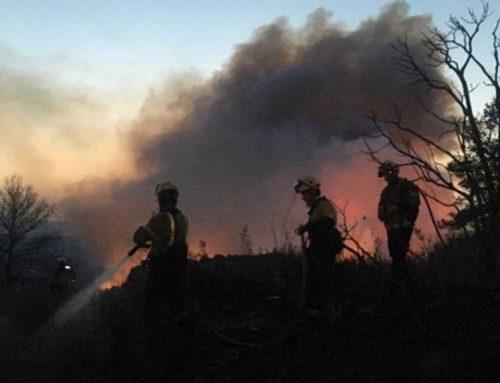 [ACTUALITZACIÓ] Nit estratègica dels Bombers, per minimitzar la propagació del foc