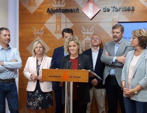 Meritxell Roigé presenta el nou cartipàs amb Saporta com a home fort del govern de Tortosa