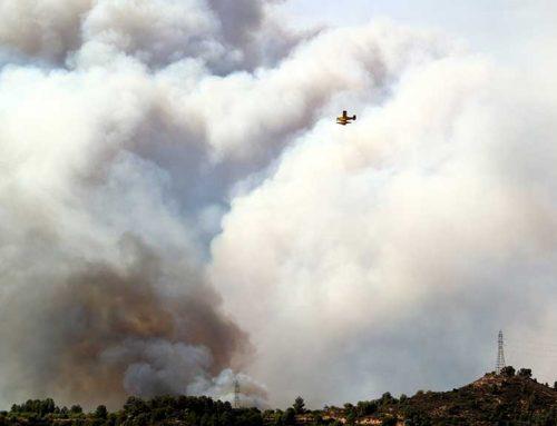 [ÚLTIMA HORA] Més de 3000 hectàrees ja ha arrassat el foc de la Ribera d'Ebre i segueix sense control