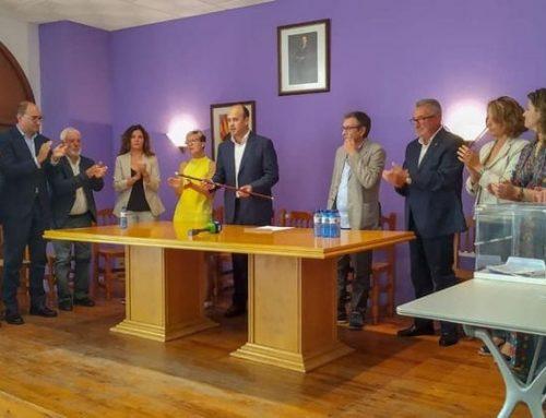 Carles Luz, alcalde de Gandesa amb la renovada majoria absoluta dels sis regidors de Junts