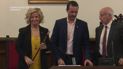 Constitució Ple Tortosa. Dissabte 15 de juny de 2019.