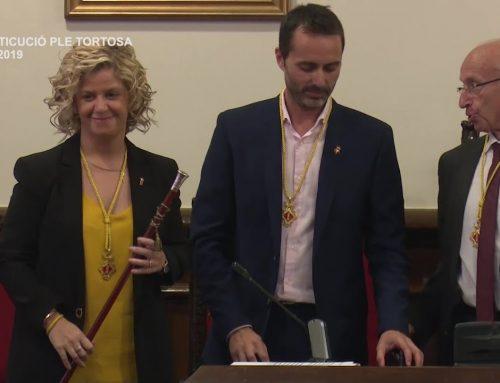 Constitució Ple Tortosa. Dissabte, 15 de juny de 2019.