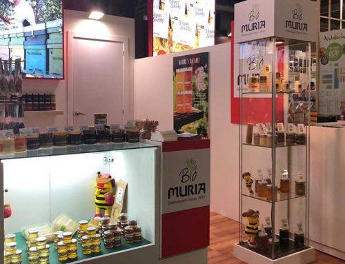 La gamma de mels ecològiques Muria BIO sorprèn en la primera edició d'Organic Food Iberia
