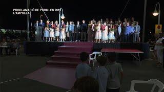 Sant Joan 2019: Proclamació de pubilles a L'Ampolla