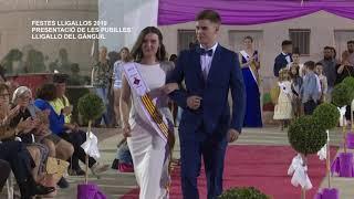 Festes Majors Lligallos 2019: Presentació Pubilles