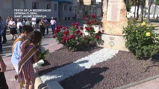Festa de la Segregació: Ofrena Floral a Sant Jaume d'Enveja