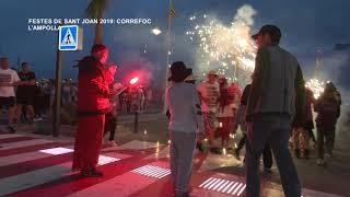 Festes Sant Joan 2019: Correfoc a L'Ampolla