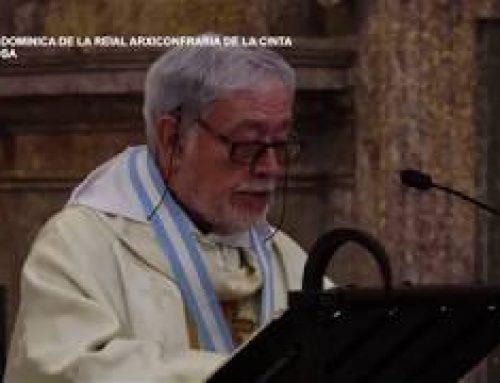 Missa Dominica de la Reial Arxiconfraria de la Cinta. Diumenge 6 de juny