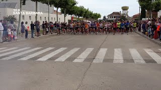 Cursa 10 km a Santa Bàrbara