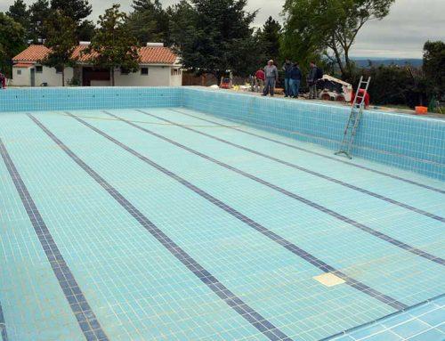 Recta final de les obres de la Piscina Municipal de Morella