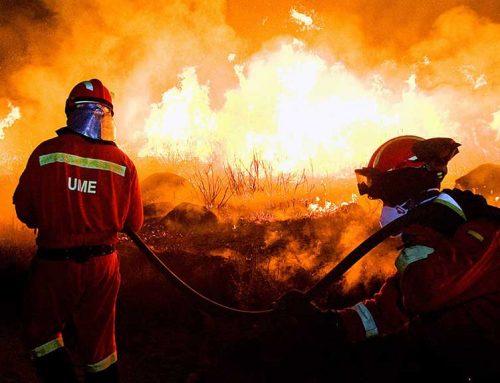 [ACTUALITZACIÓ] La UME ampliarà a més del doble els efectius que té desplaçats al foc de la Ribera d'Ebre