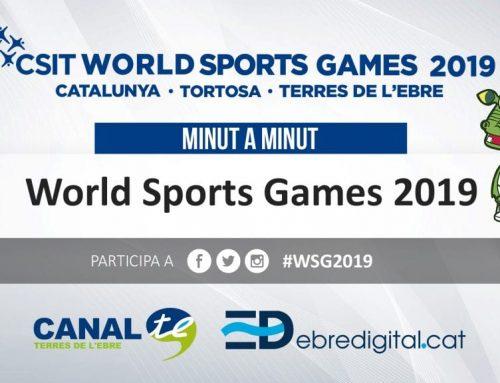 [MINUT A MINUT] World Sports Games: Tortosa – Terres de l'Ebre 2019