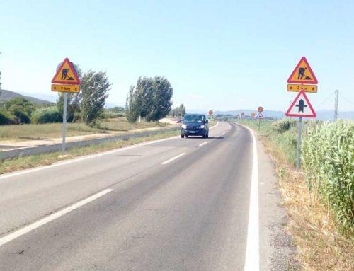 La Diputació de Tarragona millora la seguretat viària a la carretera TV-3408, entre Amposta i la Ràpita