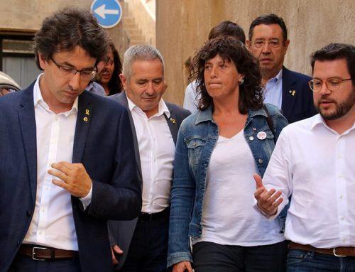 Els afectats per l'incendi de la Ribera d'Ebre, a l'expectativa de les solucions del Govern