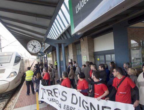 Trens Dignes desconfia del compromís del govern espanyol d'obrir la variant de Vandellòs a final d'any