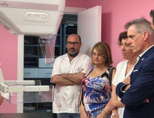 L'Hospital Comarcal estrena nova unitat de mamografia