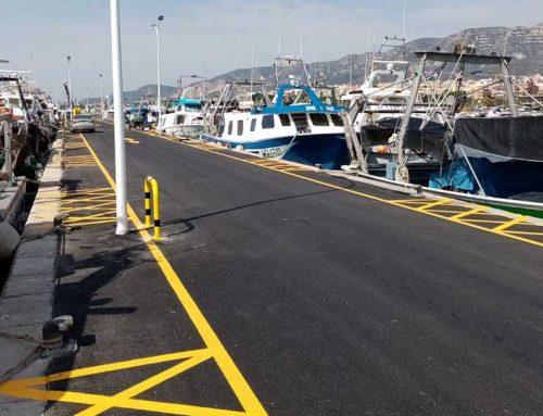 Ports de la Generalitat finalitza les obres de millora del moll pesquer del port de la Ràpita