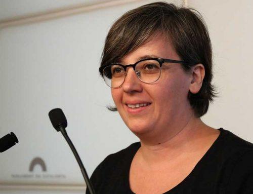 L'alcalde d'Alcanar Joan Roig (ERC) mostra el seu suport a Mireia Boya