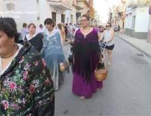 Festes Majors Santa Bàrbara: Ofrena Flors i Fruits Sant Isidre