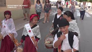 Festes Majors Camarles Repartiment de panoli