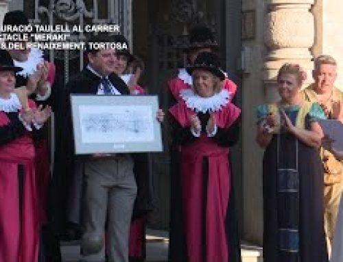 Festa del Renaixement: Inauguració taulell al carrer i espectacle Meraki