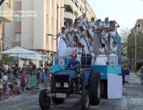 Festes Majors La Ràpita: Desfilada de carrosses