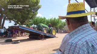 Concurs tractoristes 50è aniversari a Santa Bàrbara