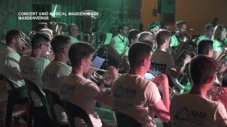 Festes Majors Masdenverge: Concert Unió Musical Masdenverge