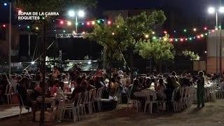 Festes Majors Roquetes: XXXVIIè Sopar de la Cabra