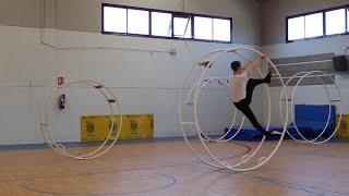 4 juliol - Gimnàstica en roda (Wheel Gymnastics) World Sports Games Tortosa - Terres de l'Ebre 2019