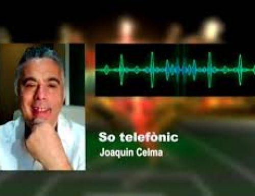 Joaquin Celma, el periodista que no deixa indiferent a ningú