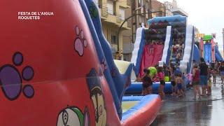 Festes Majors Roquetes: Festa de l'aigua