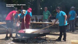 Festes Majors de Roquetes: Baldanada i salsitxada