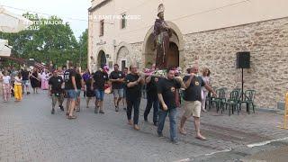 Festes Majors Jesús: Ofrena de flors i fruits a Sant Francesc